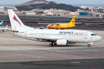 SX-BHR - Hermes Airlines Boeing 737-500