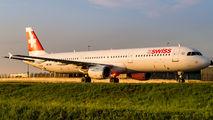 HB-IOK - Swiss Airbus A321 aircraft