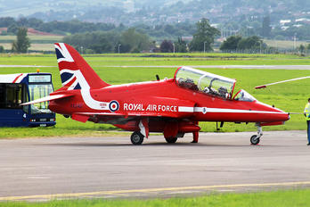 "XX242 - Royal Air Force ""Red Arrows"" British Aerospace Hawk T.1/ 1A"