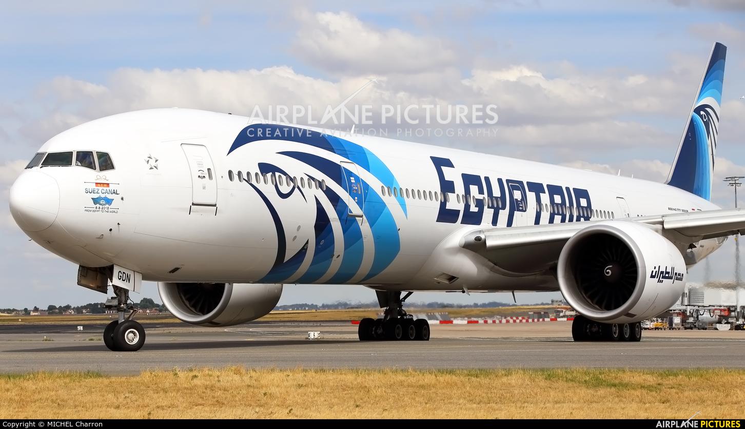 Egyptair SU-GDN aircraft at Paris - Charles de Gaulle