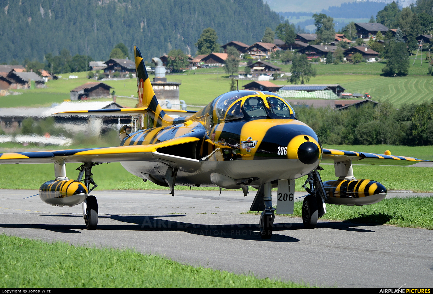 Private HB-RVV aircraft at St. Stephan