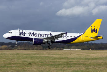 G-MRJK - Monarch Airlines Airbus A320