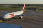 PT-MVF - TAM Airbus A330-200 aircraft
