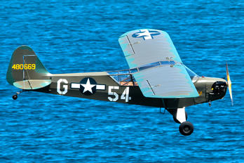 EC-AJY - Fundación Infante de Orleans - FIO Piper J3 Cub