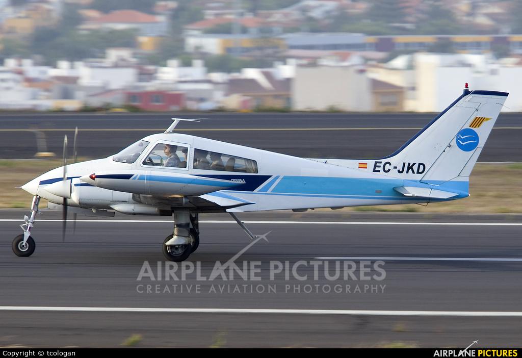 Private EC-JKD aircraft at Tenerife Norte - Los Rodeos