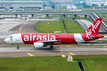 9M-AHA - AirAsia (Malaysia) Airbus A320