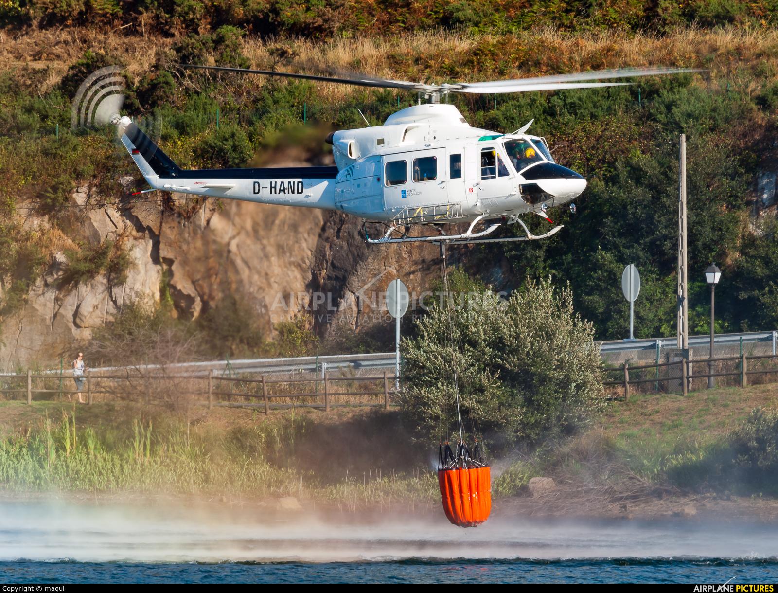 INAER D-HAND aircraft at La Coruña - Off Airport