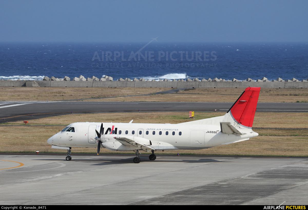 JAL-  Japan Air Commuter JA8886 aircraft at Amami