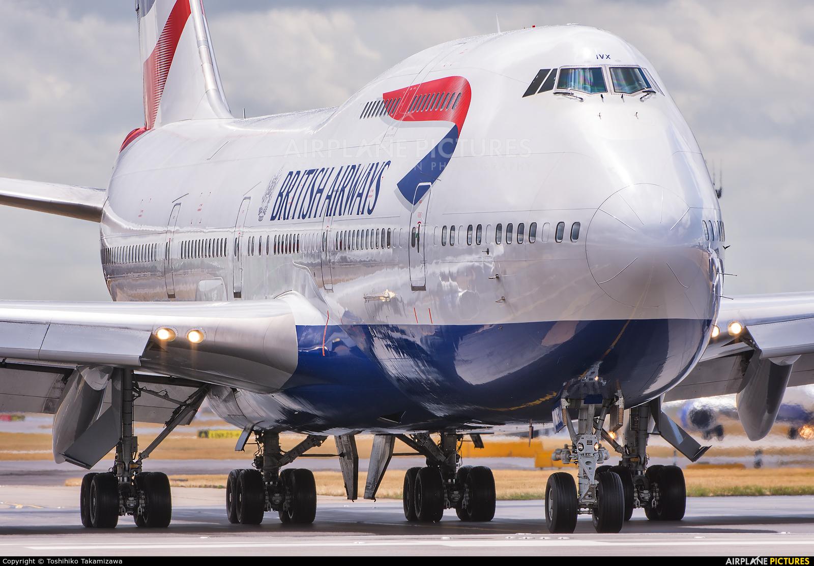 British Airways G-CIVX aircraft at London - Heathrow