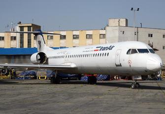 EP-CFL - Iran Air Fokker 100