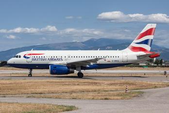 G-DBCA - British Airways Airbus A319