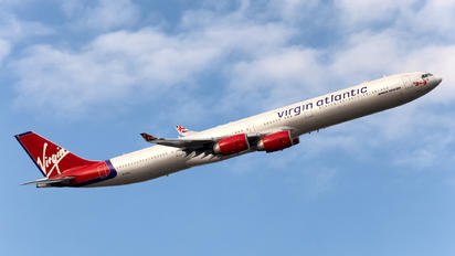 G-VFIZ - Virgin Atlantic Airbus A340-600
