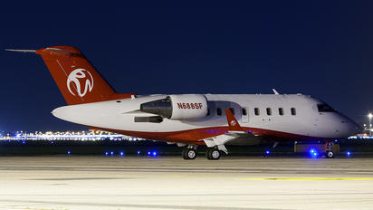 N688SF - Private Bombardier CL-600-2B16 Challenger 604