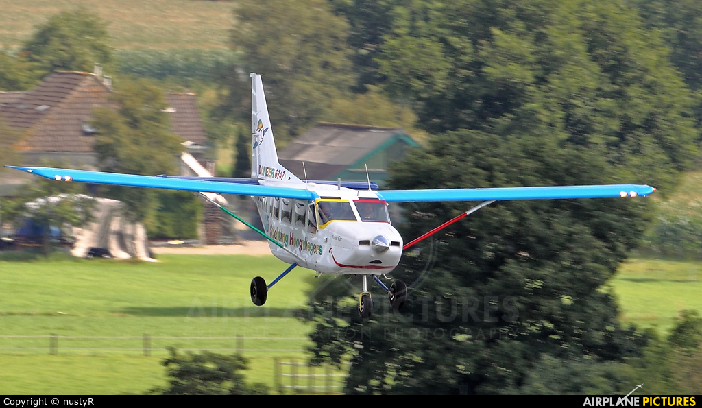 Stichting Hoogvliegers PH-KMR aircraft at Hoogeveen