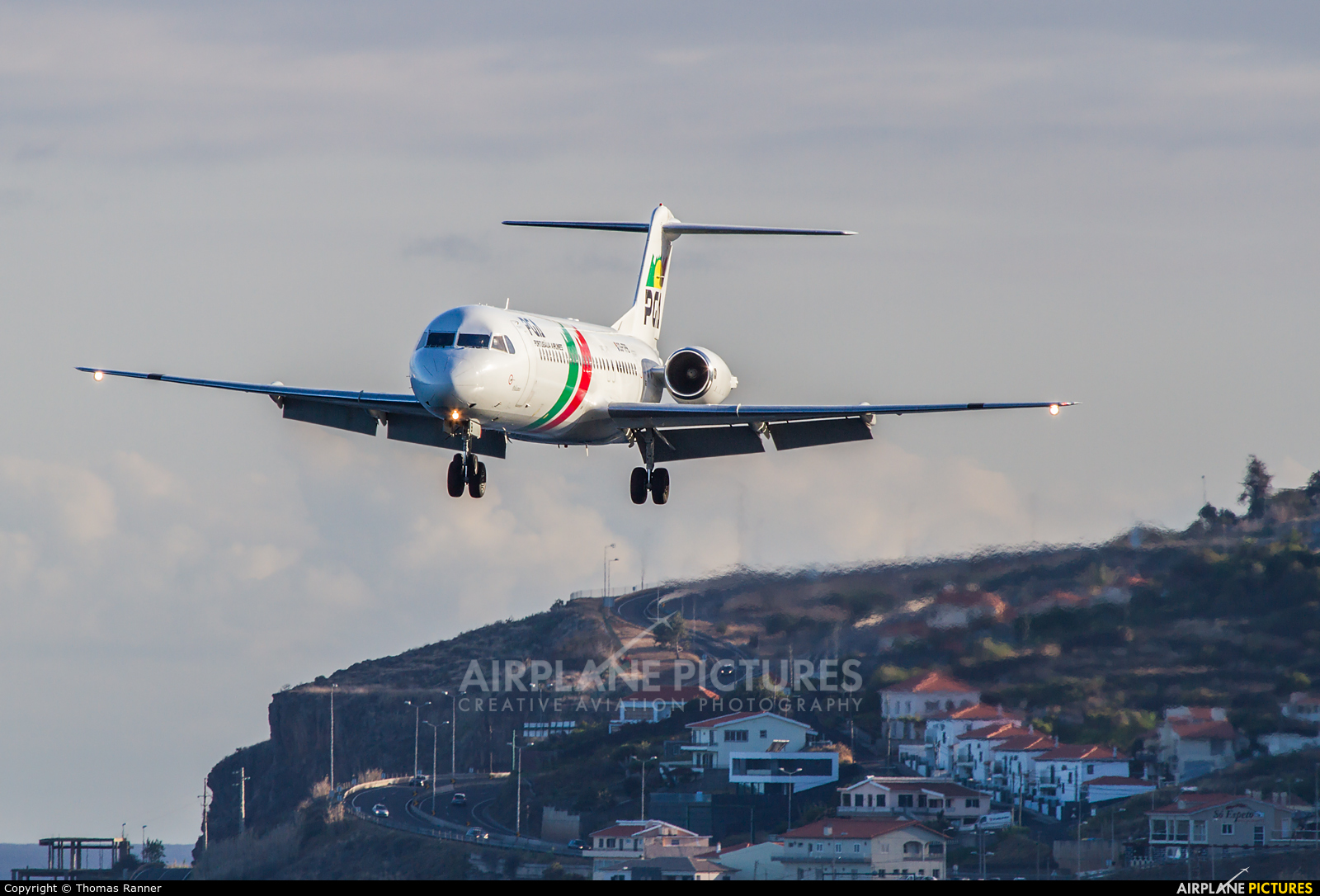 PGA Portugalia CS-TPB aircraft at Madeira