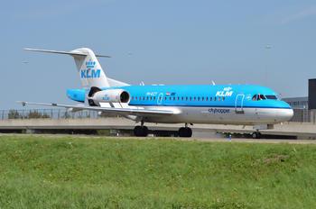 PH-KZT - KLM Cityhopper Fokker 70