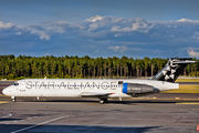 OH-BLN - Blue1 Boeing 717 aircraft