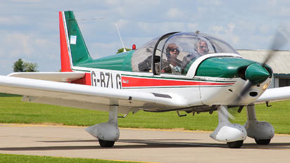 G-BZLG - Private Robin HR.200 series