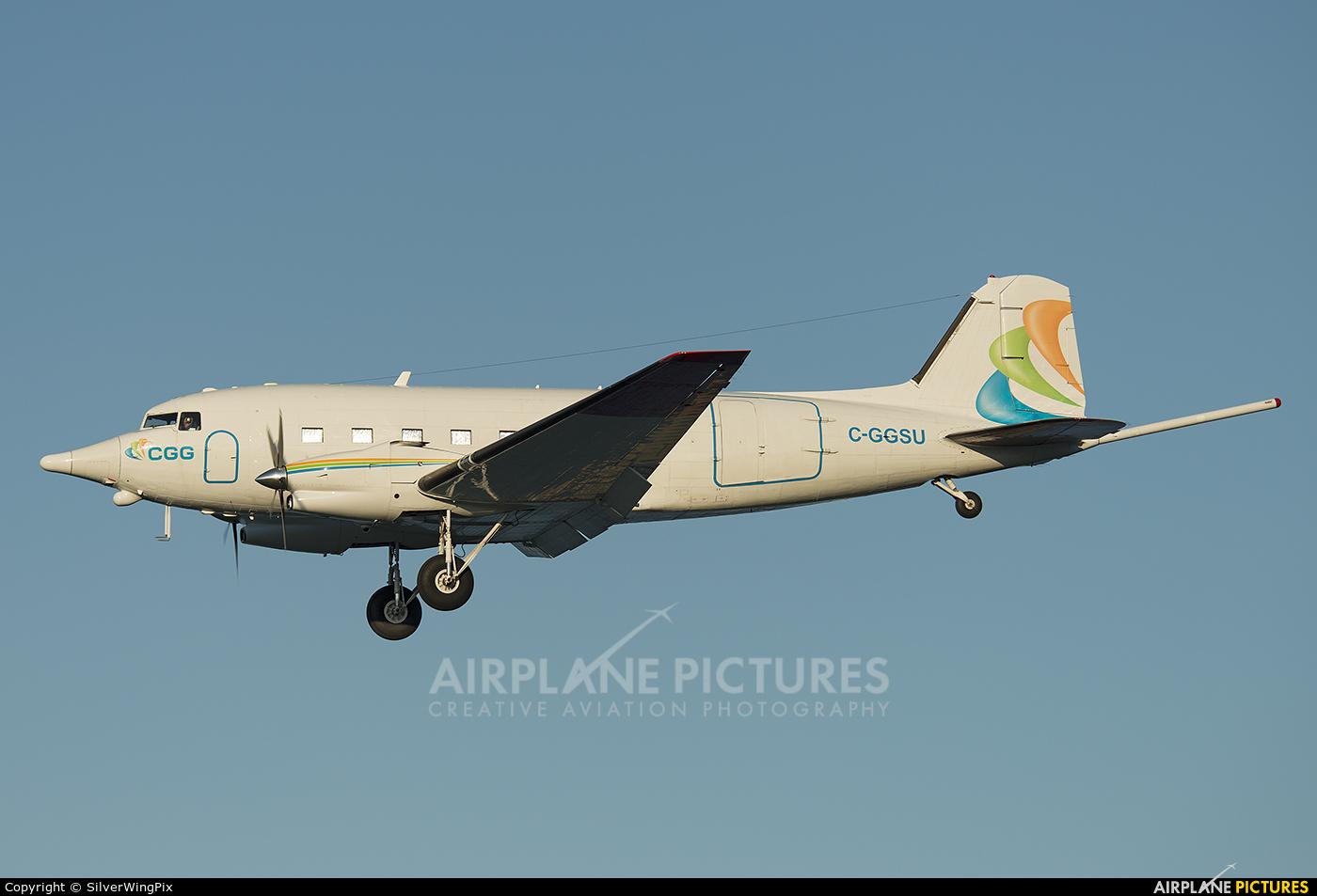 CGG Aviation C-GGSU aircraft at Corfu - Ioannis Kapodistrias