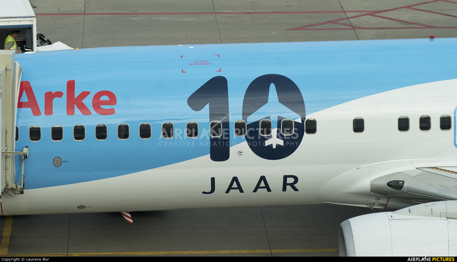 Arke/Arkefly PH-TFC aircraft at Amsterdam - Schiphol