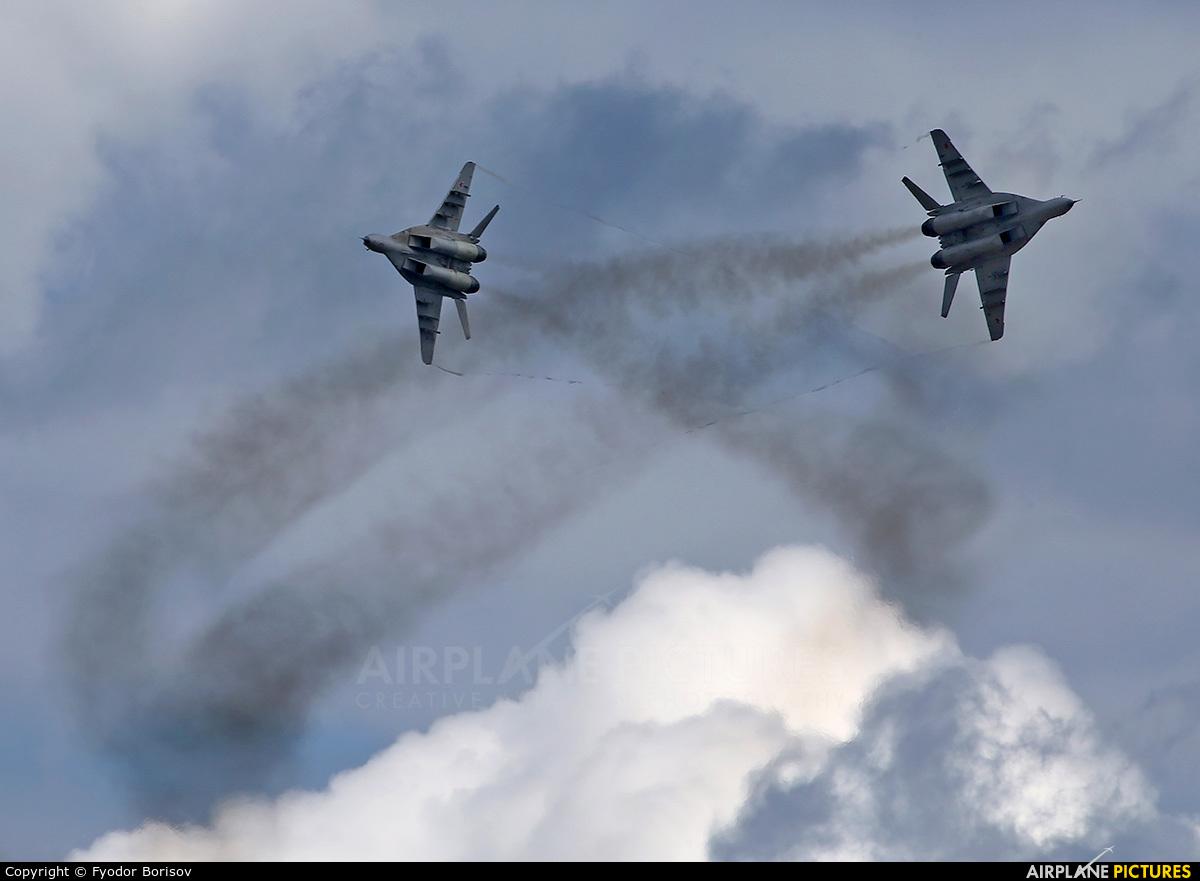 Russia - Air Force 34 aircraft at Dubrovichi Air Range