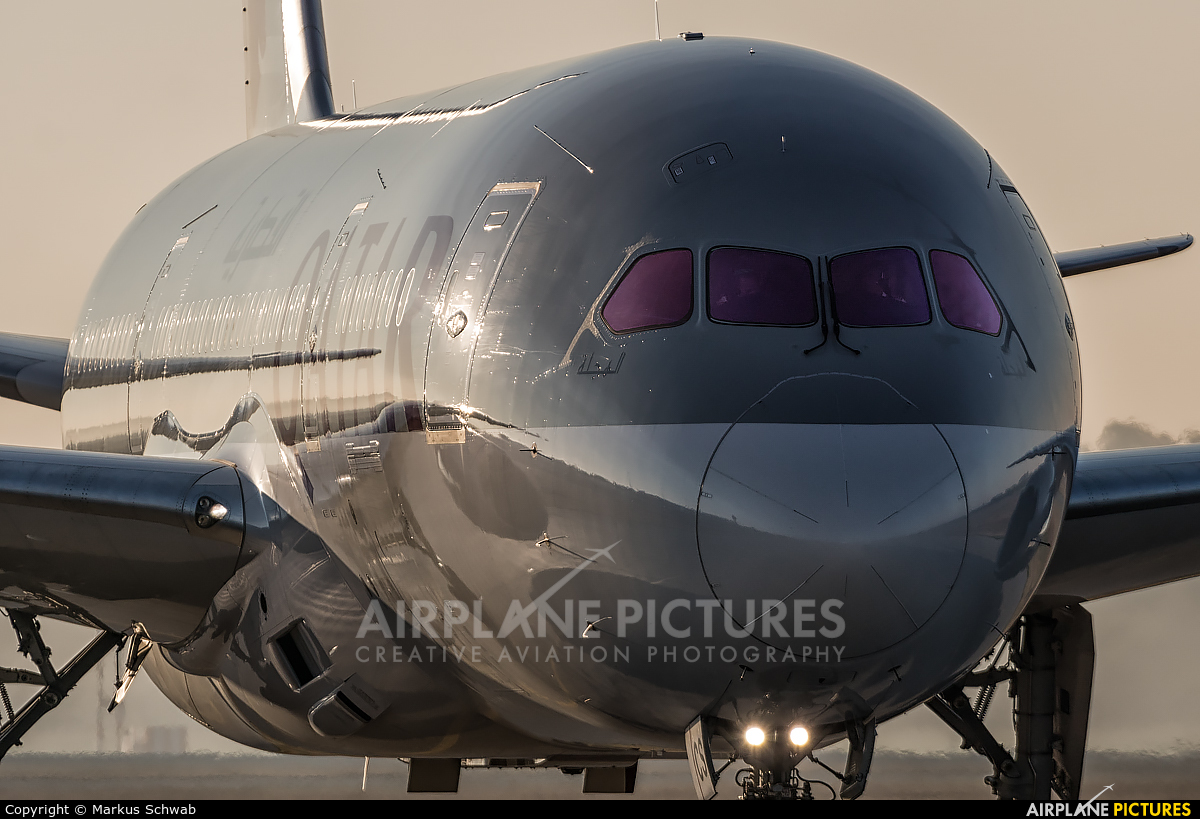 Qatar Airways A7-BCS aircraft at Munich