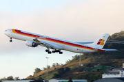 EC-LFS - Iberia Airbus A340-600 aircraft