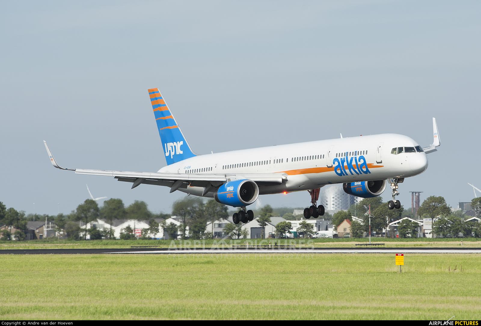 Arkia 4X-BAW aircraft at Amsterdam - Schiphol