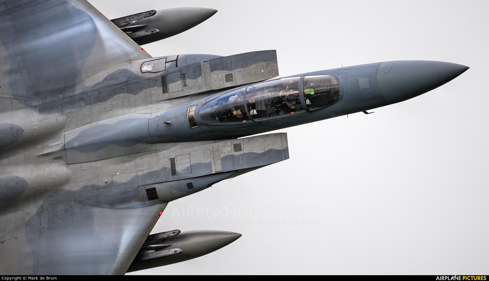 USA - Air Force 84044 aircraft at Machynlleth Loop - LFA 7