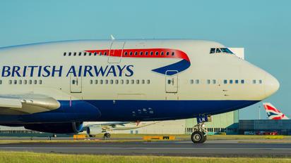 G-BNLN - British Airways Boeing 747-400