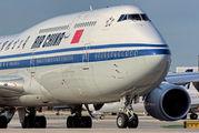 B-2487 - Air China Boeing 747-8 aircraft
