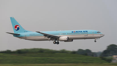 HL7707 - Korean Air Boeing 737-900