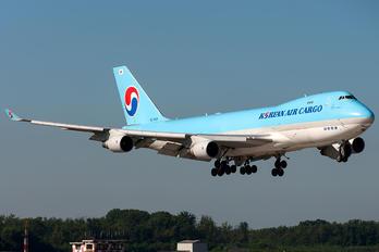 HL7434 - Korean Air Cargo Boeing 747-400F, ERF