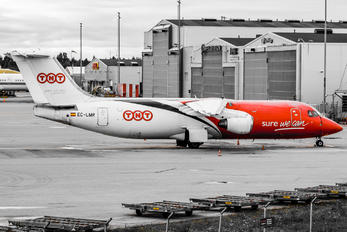 EC-LMR - TNT British Aerospace BAe 146-300/Avro RJ100