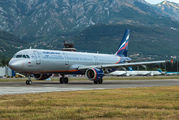 VQ-BED - Aeroflot Airbus A321 aircraft