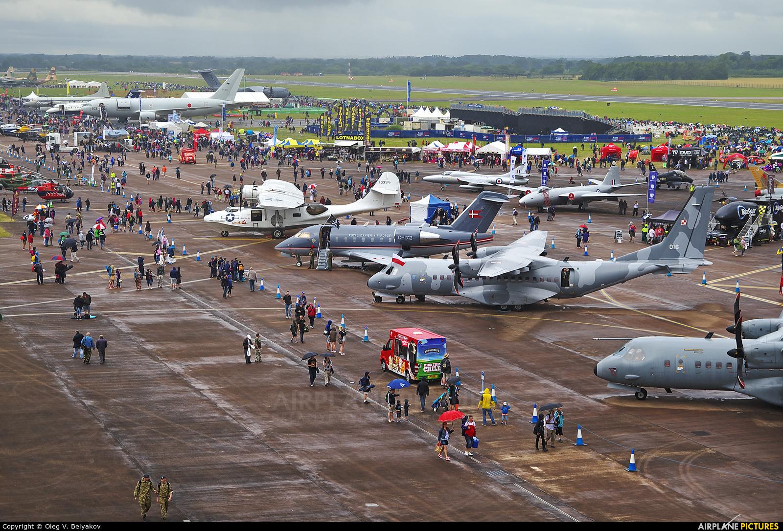 Poland - Air Force 016 aircraft at Fairford