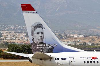 LN-NOH - Norwegian Air Shuttle Boeing 737-800