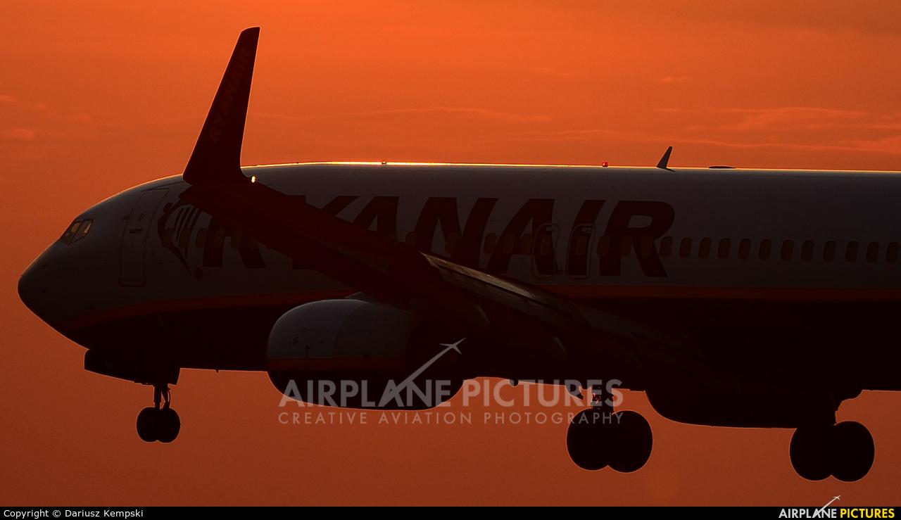 Ryanair EI-DAK aircraft at Łódź - Lublinek