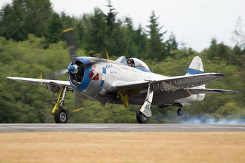NX7159Z - Private Republic P-47D Thunderbolt