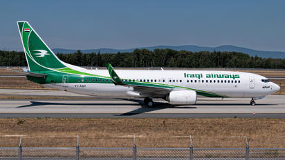 YI-AST - Iraqi Airways Boeing 737-800