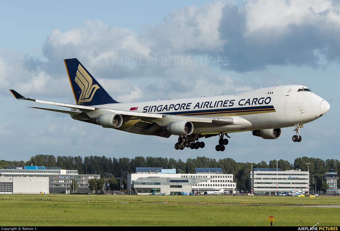 Singapore Airlines Cargo 9V-SFM aircraft at Amsterdam - Schiphol