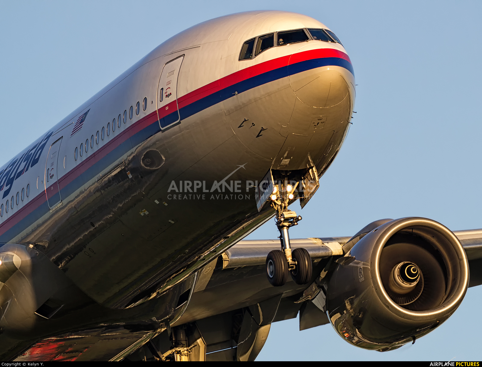 Malaysia Airlines 9M-MRH aircraft at Amsterdam - Schiphol