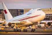 A9C-HAK - Bahrain Amiri Flight Boeing 747SP aircraft