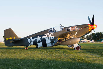 N515ZB - Private North American P-51B Mustang