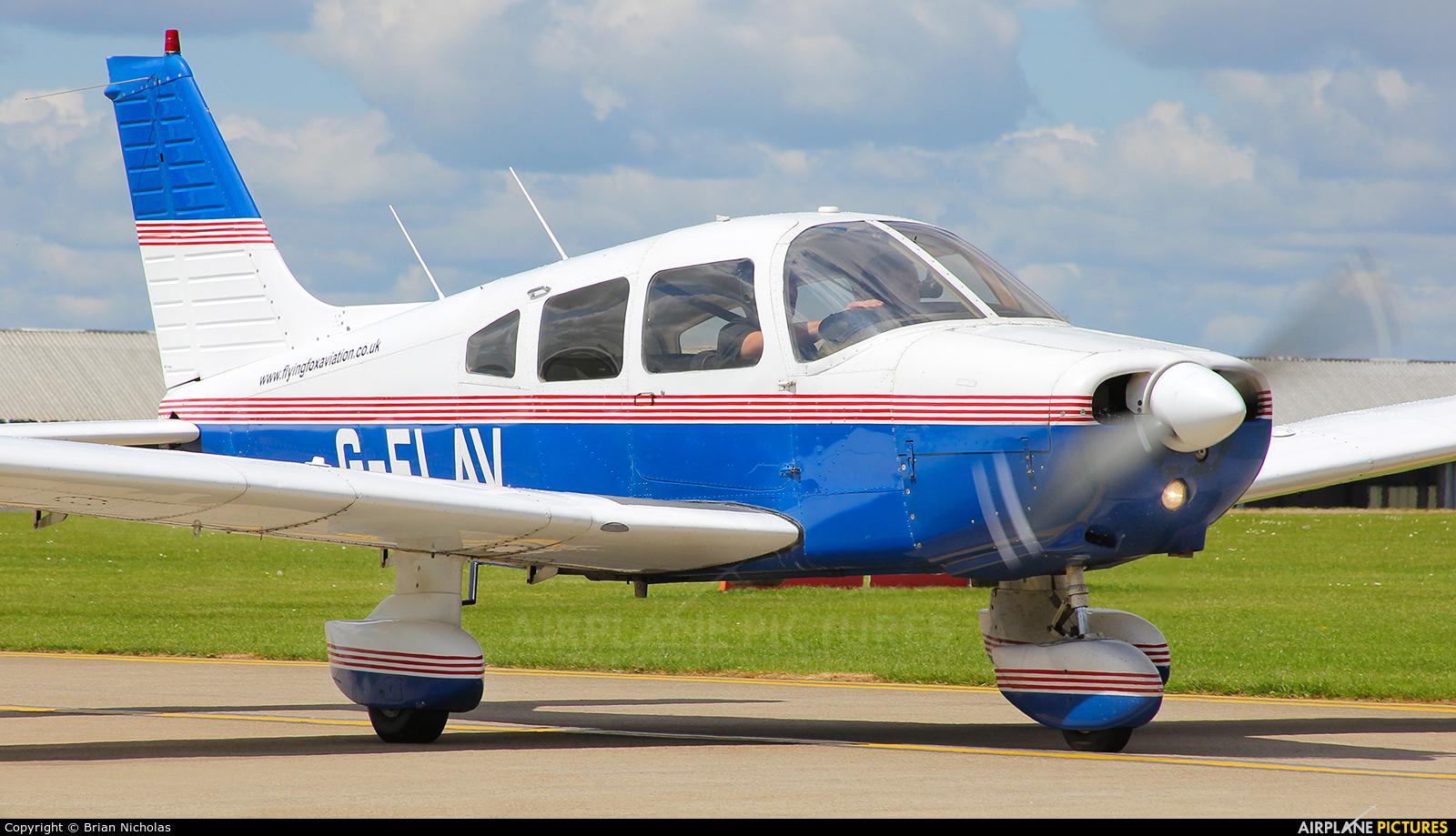 Private G-FLAV aircraft at Northampton / Sywell