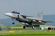 224 - Sweden - Air Force SAAB JAS 39C Gripen aircraft