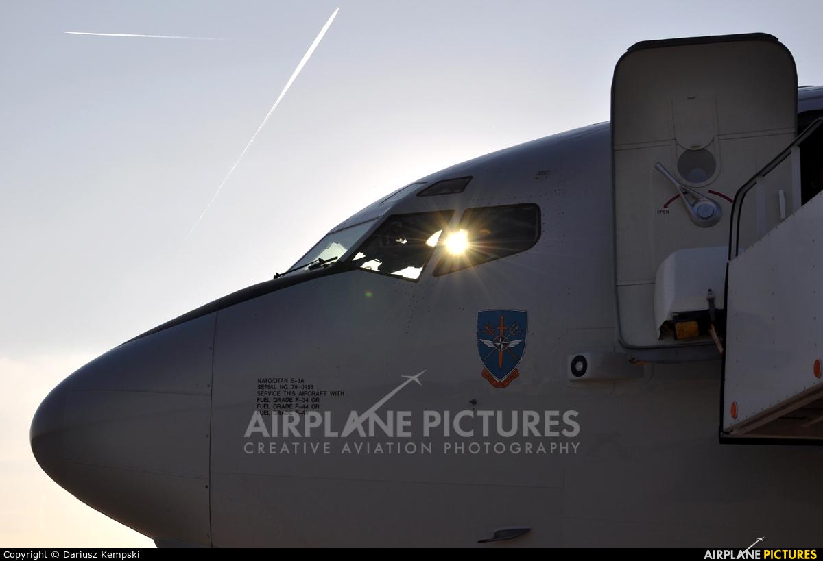 NATO LX-N90458 aircraft at Łask AB