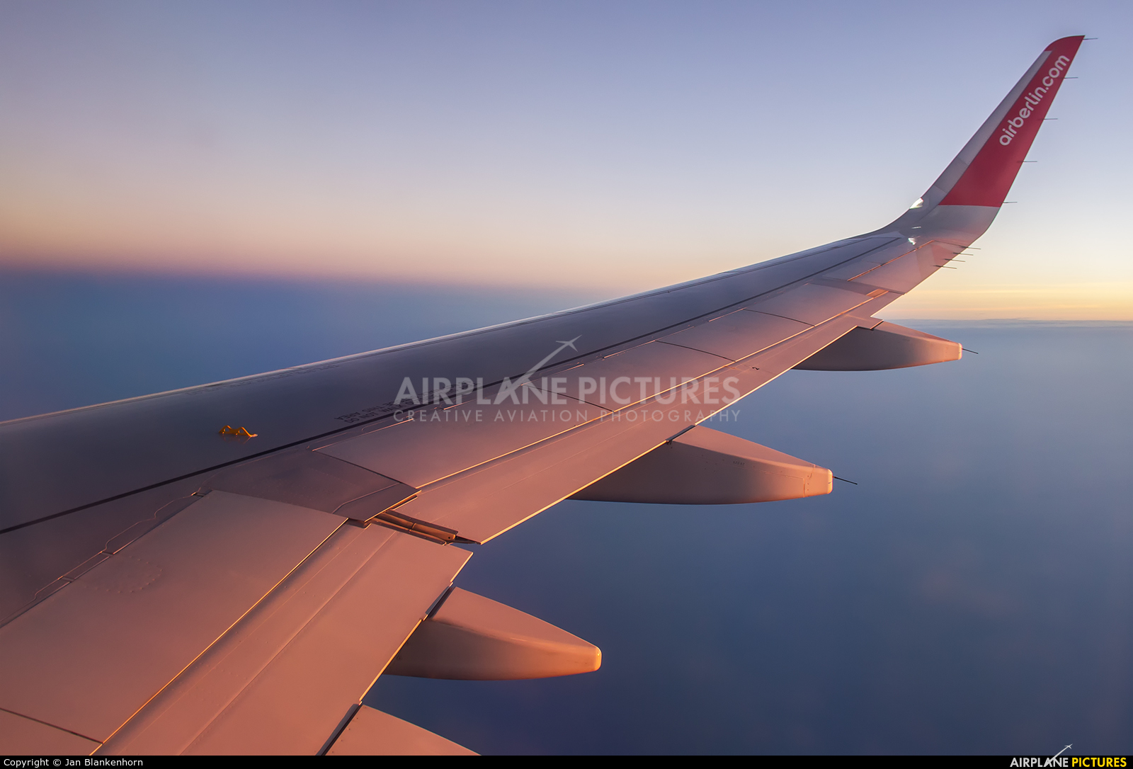 Air Berlin D-ABNJ aircraft at In Flight - UAE