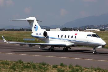 TC-ARB - ArkasAir Bombardier BD-100 Challenger 300 series