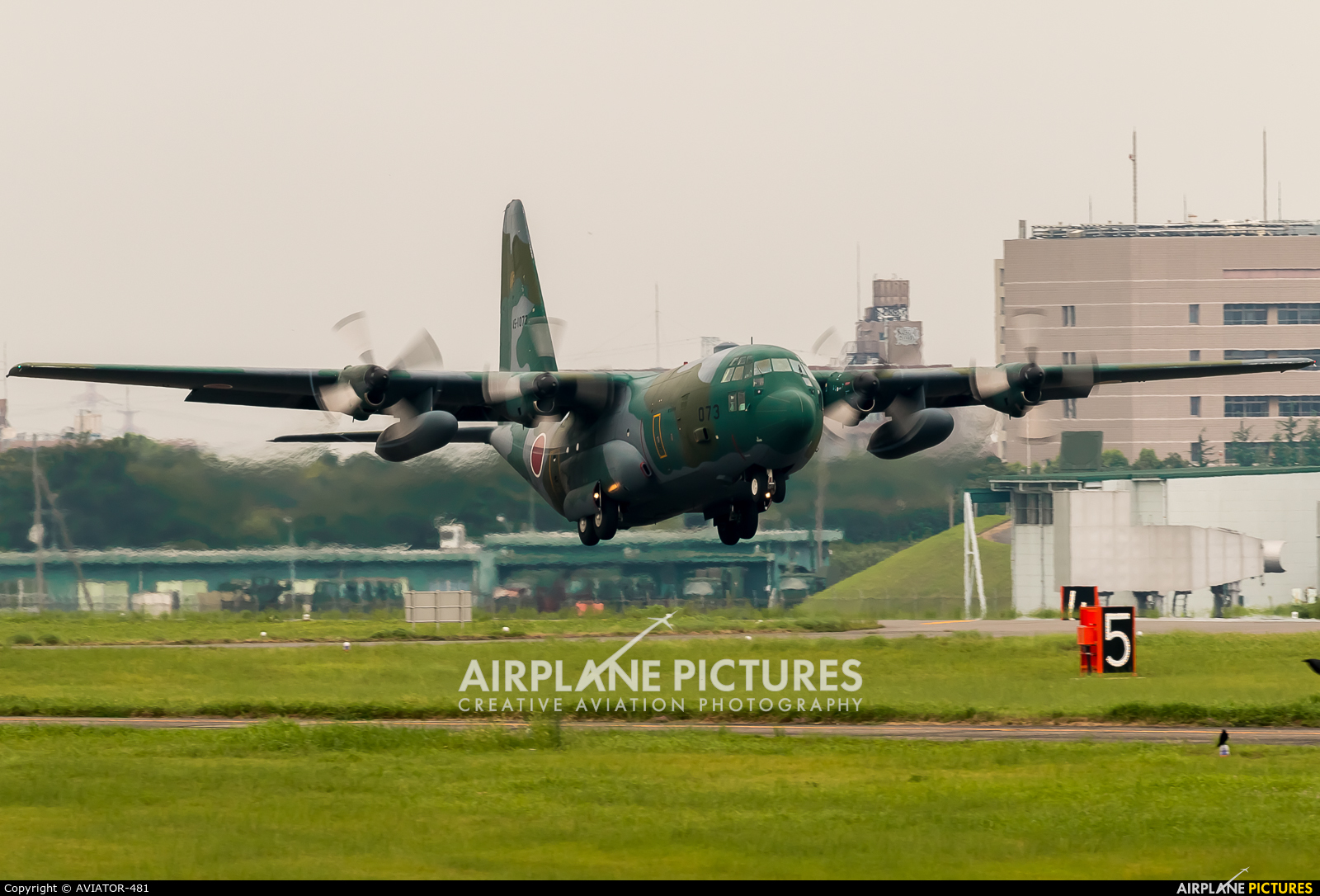 Japan - Air Self Defence Force 45-1073 aircraft at Iruma AB